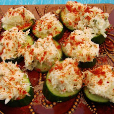 Crab Cucumber Slices