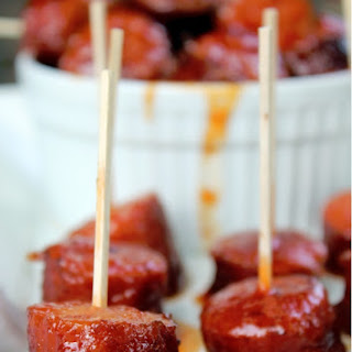 Crock Pot Spicy Barbecue Kielbasa