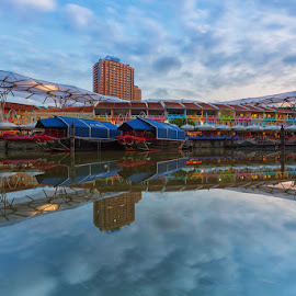 Colourful Building by Lb Chong Jacobs - City,  Street & Park  City Parks