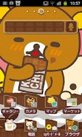 Screenshot of Rilakkuma Theme 1
