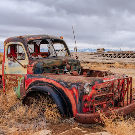 Millard Co Draniage Dist. No. 3 by Scott Stringham - Transportation Automobiles ( urban exploration, millard co. drainage dist, utah, delta )