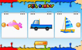 Screenshot of Buku Mewarnai Seri Kendaraan