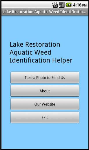 Aquatic Weed Identifier