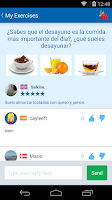 Screenshot of Learn Spanish with busuu