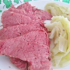 Lucky's Lucky Corned Beef and Cabbage