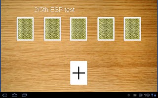 Screenshot of ESP cards