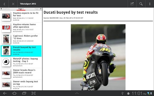 TMotoSportPlus - screenshot