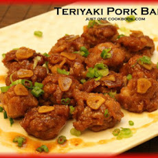 Teriyaki Pork Ball