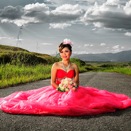 Pink by Josh Marshall Lonardy - Wedding Bride