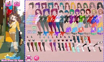 Screenshot of Dressup Peach Girl Lite