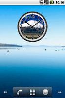 Screenshot of Mount Fuji Clock