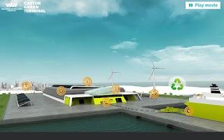 Screenshot of Castor Green Terminal