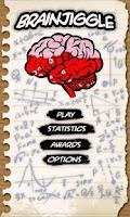 Screenshot of BrainJiggle
