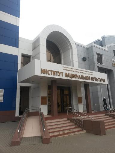 Институт  национальной культуры