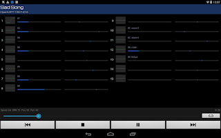 Screenshot of Xmp Mod Player