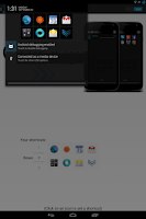 Screenshot of Quickly Notification Shortcuts