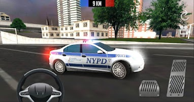 Screenshot of Police Car Driver