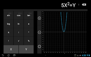 Screenshot of Calculator (CyanogenMod)