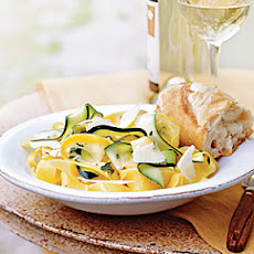 Summer Squash Ribbons with Oregano, Basil, and Lemon