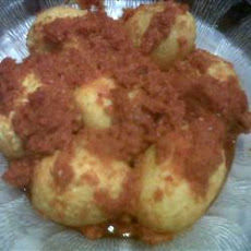 Telur Balado (Spicy Chile Sauce with Eggs)