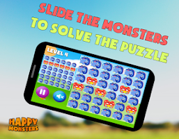 Screenshot of Puzzle Monsters