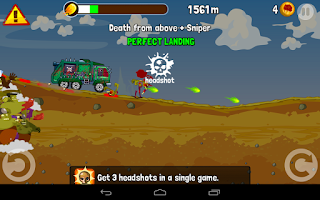 Screenshot of Zombie Road Trip