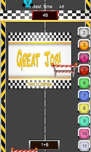Math Racer Addition - Tablet - screenshot