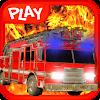 3D Firefighter Truck Driver