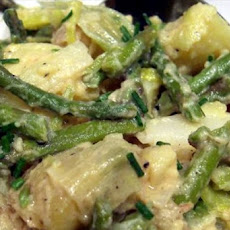 Warm Potato Leek Salad