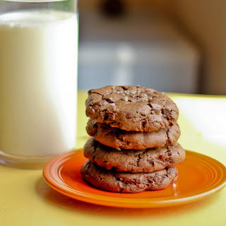 Double Chocolate Chip Cookies made with PB2