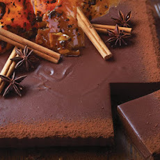 West Indies chocolate tart