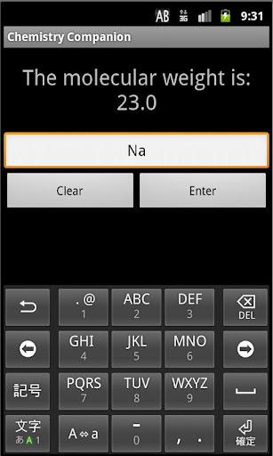 【免費教育App】Chemistry Companion-APP點子