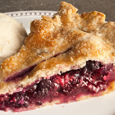 Mixed Berry and Anise Pie