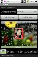 Screenshot of FrameMe