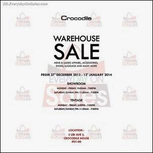0b9a0b0bae3027 Crocodile Warehouse Sale Singapore Jualan Gudang EverydayOnSales Offers Buy  Sell Shopping