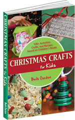 Christmas Crafts for Kids: 100 Kids activities, crafts and snacks based on childnre's books only $9.99