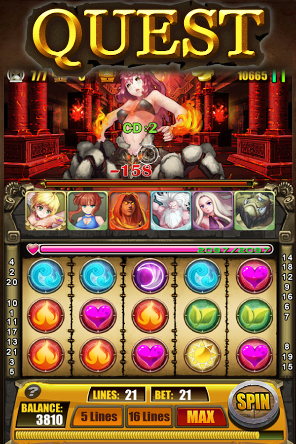 Dragon Era - RPG Card Slots- screenshot