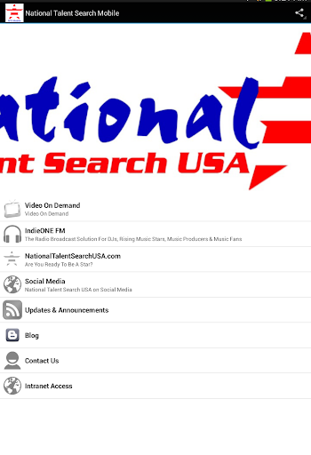 National Talent Search Mobile