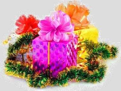 regalos de navidad con adornos
