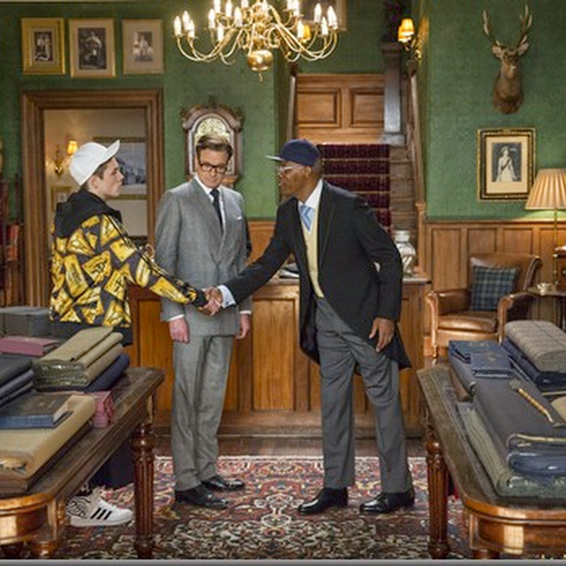 "New Spies in Training in ""Kingsman: The Secret Service"""