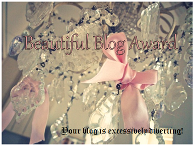 Beautiful Blog Award Button