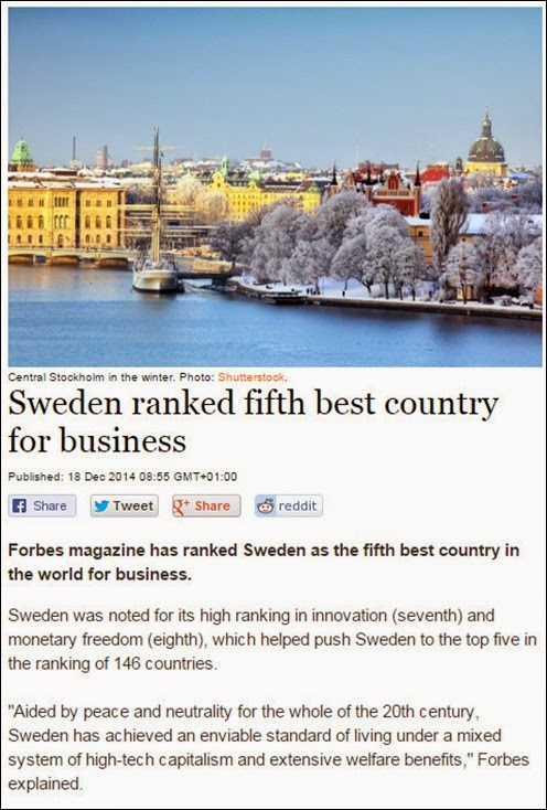 sweden 5 for business