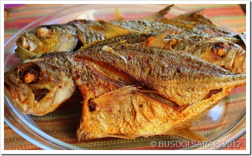 FRIED FISH FOR CARDILLO © BUSOG! SARAP! 2012