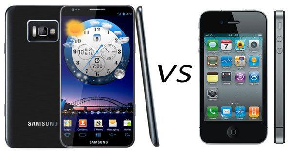 Iphone 4S vs Samsung galaxy S3