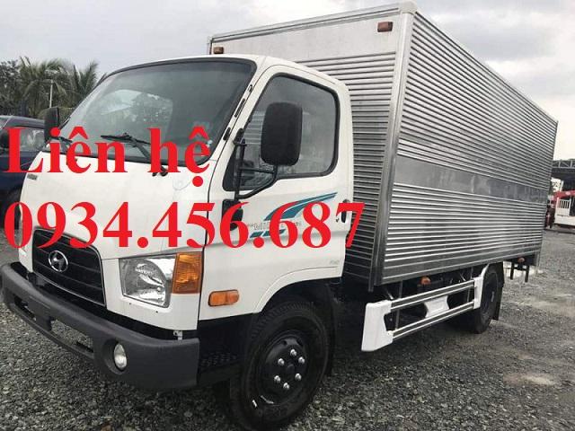 Đại lý bán xe tải 7 tấn Hyundai 110s thùng kín