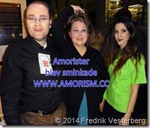 DSC00921.JPG Några Amorister blev sminkade på Medelhavsmuseet med amorism