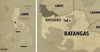 Nasugbu Location Map
