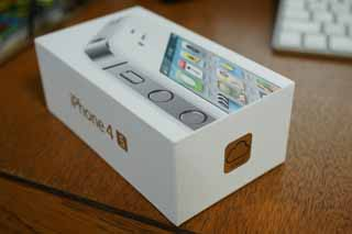 iPhone4S開封の儀