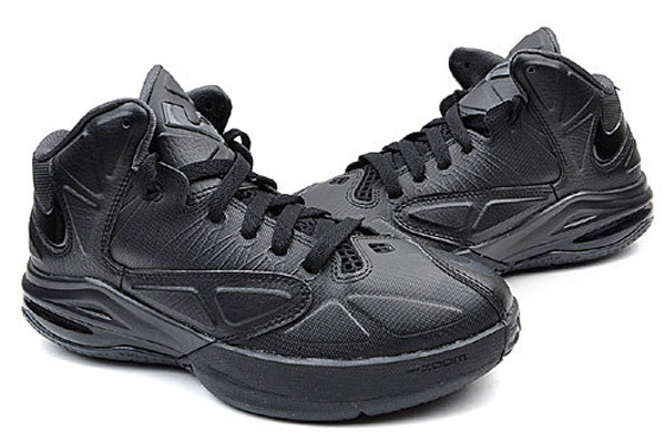 new arrival 88c3a 26d3f New Nike Air Max Ambassador V Triple Black Available in Asia   NIKE LEBRON  - LeBron James Shoes
