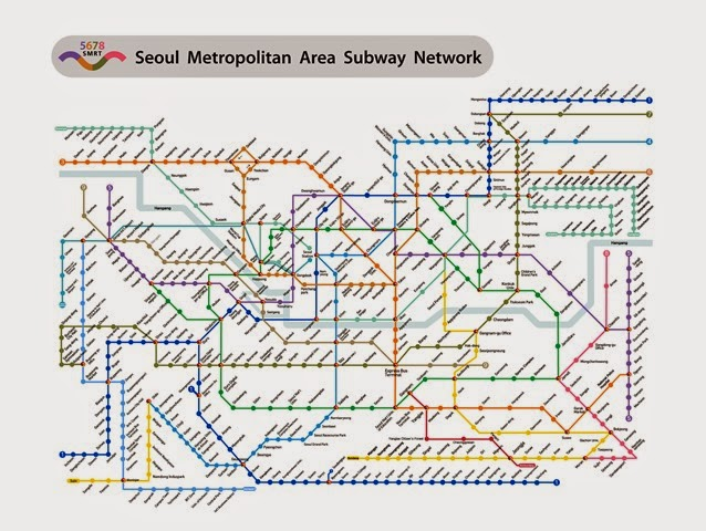Seoul Subway Map 2014.The Siow Travels Where To Download Seoul Subway Map My Pre Korea Trip Research Transport